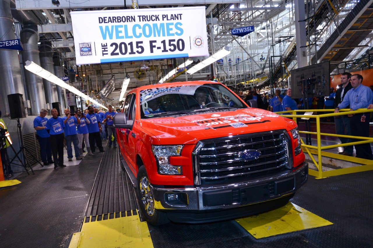 Ford uaw to add 650 michigan jobs in support of f 150 for Ford motor company jobs dearborn mi