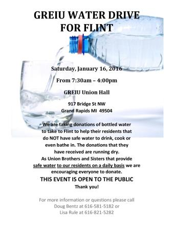 Water Drive Flyer