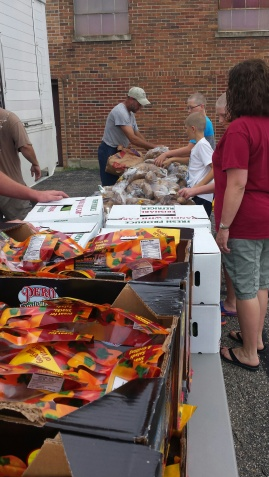 Kent-Ionia Labor's July food truck at First Community AME